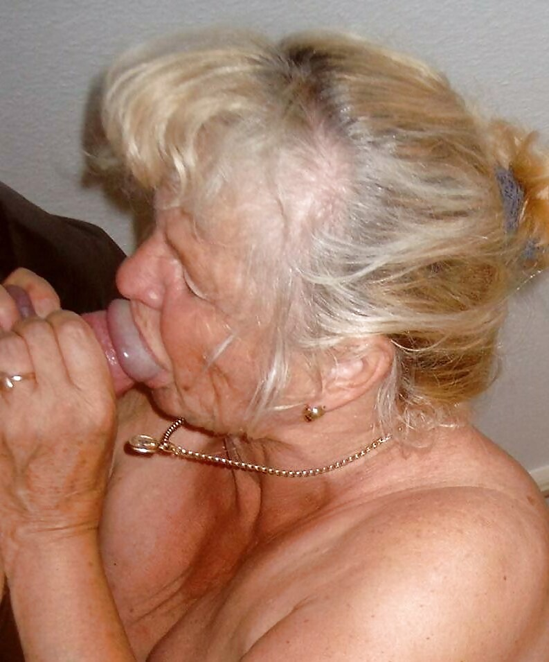 Granny blow job sample
