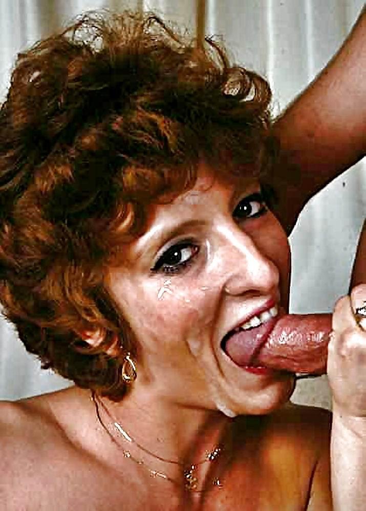 Mature Granny Blow Job