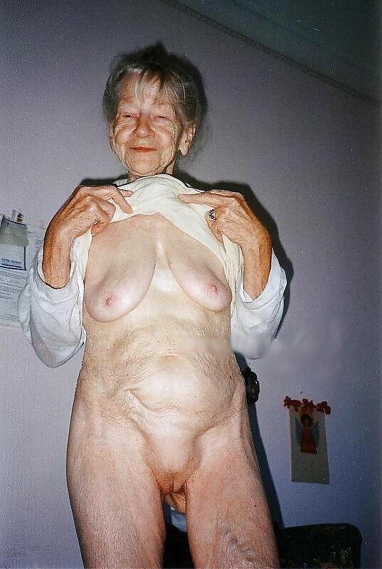 nude really old wrinkly women