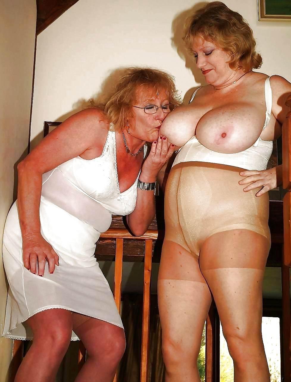 Granny bra sex