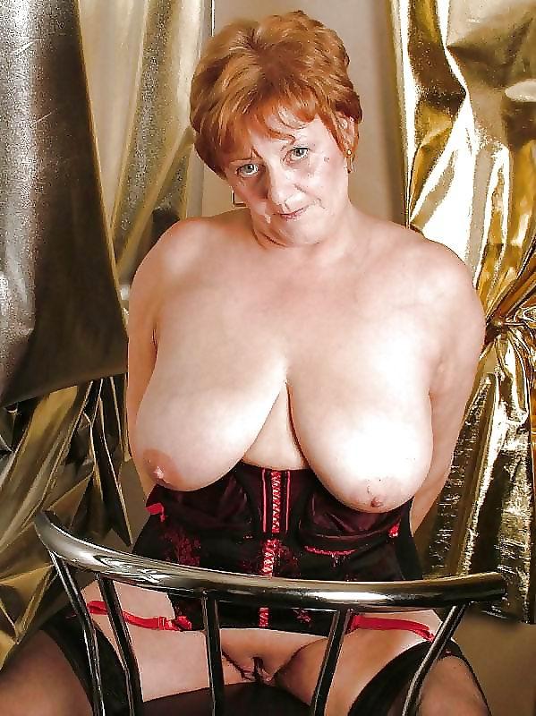 Granny big boobs