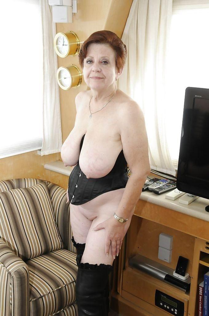 Big nipples granny