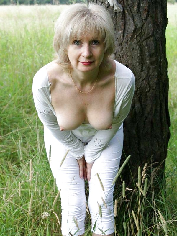 Think, that hot grey haired nude women remarkable, very