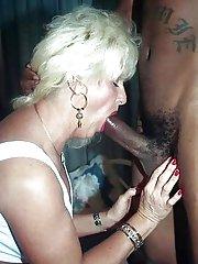 old women sucking black cock